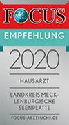 Focus Bewertung 2020